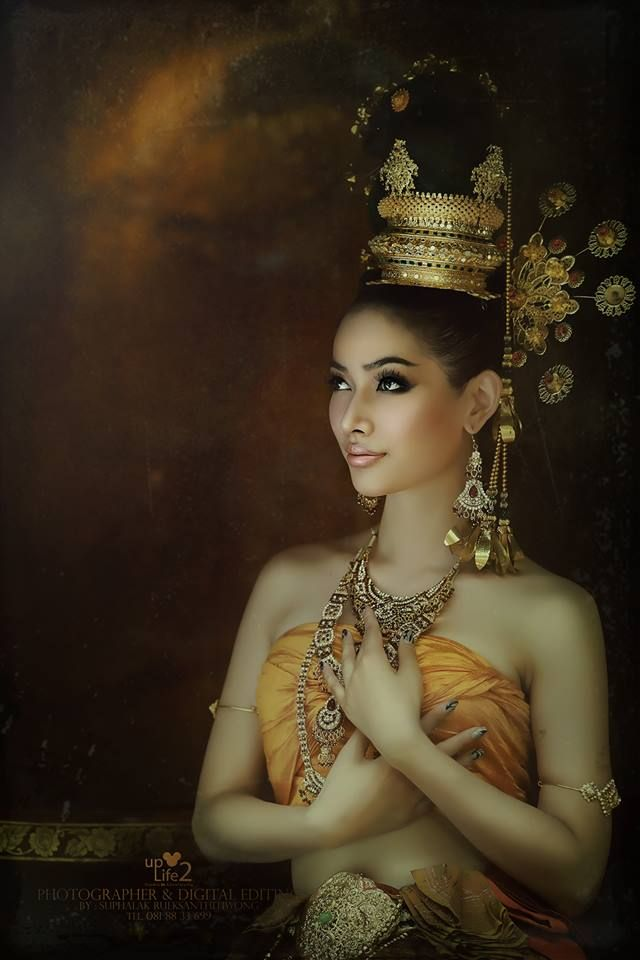 Thai (Siamese) Synthetic Silk and Accessories Photo by 4 Boran Folk/Country