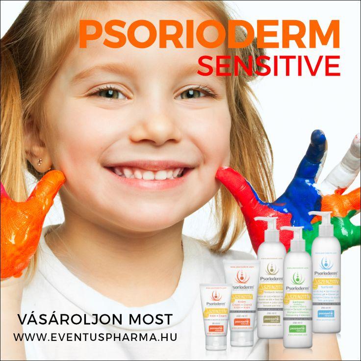 PSORIODERM SZENZITÍV  Magyar Termék Nagydíjas Parabén- és szalicilsavmentes Psorioderm® Szenzitív termékek az ekcémás, atópiás, pikkelysömörös és szeborreás bőr napi ápolására ajánlottak, már 3 éves kor alatt is. Hozzáadott jojoba-, akácméz kivonattal, shea vaj- és E-vitamin tartalommal rendelkeznek. http://www.eventuspharma.hu/markak/psorioderm-sensitive