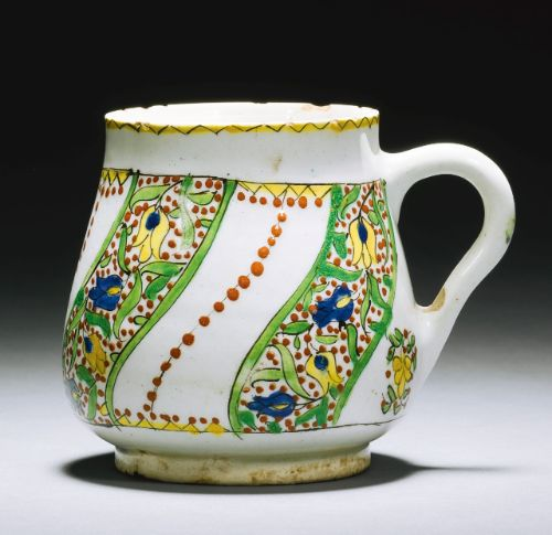 A Kütahya pottery cup, Turkey, early 18th century | Lot | Sotheby's