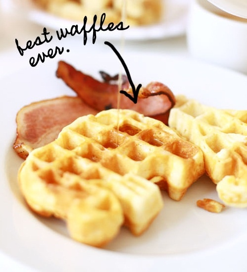 Best waffles ever. #recipe #waffles | Love for food