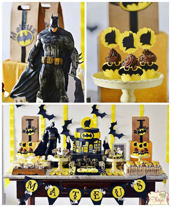 Batman Birthday Party via Kara's Party Ideas | KarasPartyIdeas.com (2)