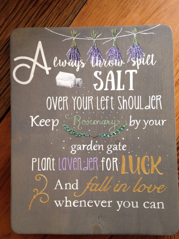 Practical Magic Wood Sign.Sally Owens Quote. Herb Wood Sign.