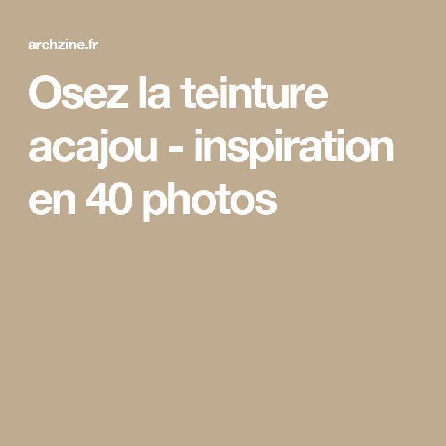 Osez la teinture acajou - inspiration en 40 photos