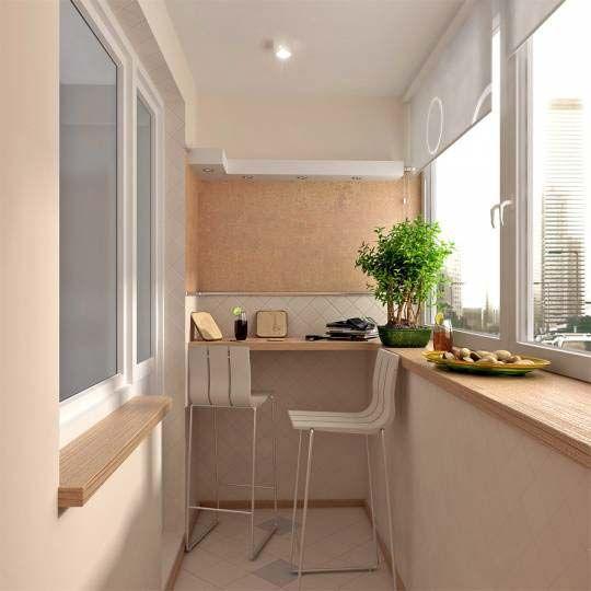 Beautiful and cozy balcony. Ideas for balcony registration. - идеи для застекленного балкона