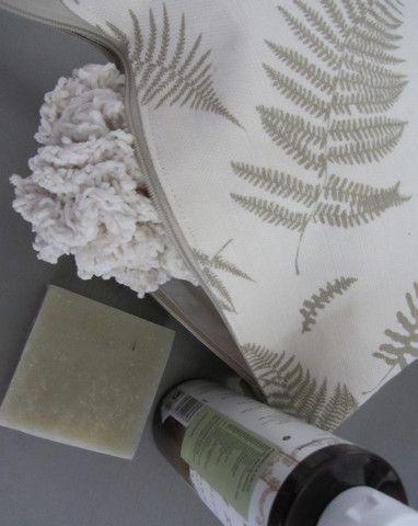 Linen Makeup Bag Woodland Walk – Flax & Loom