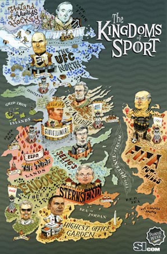 On Sports Illustratedu0027s u0027Game Of Thronesu0027 Cover