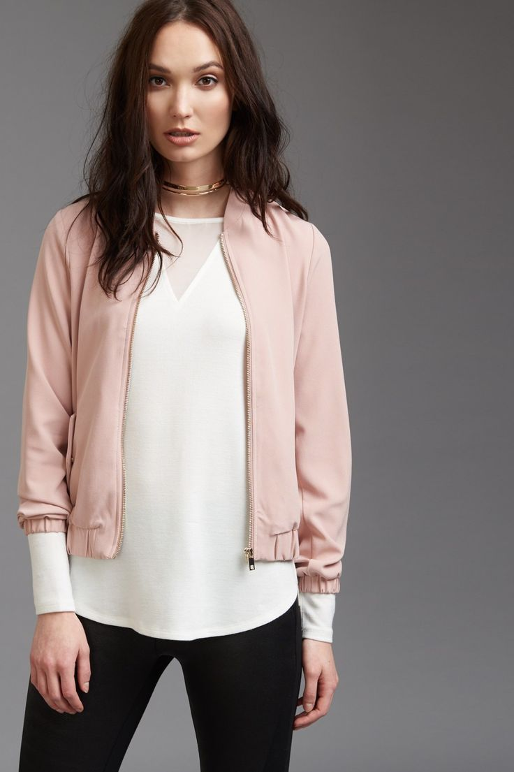 The only jacket to be seen in right now - Lightweight Bomber Jacket