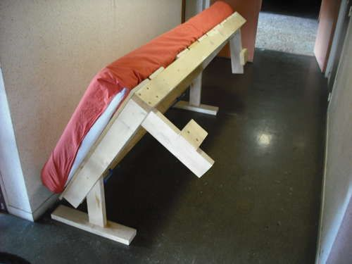 Diy Fold Away Bed Woodworking Plans Pinterest