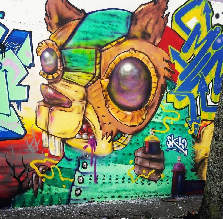 @skilocontrolamente inMogi das Cruzes, SP, Brazil. #skilocontrolamente #skilo #MogidasCruzes #saopaulograffiti #graffitisp #graffitisaopaulo #streetartsp #streetartbrazil #streetartbrasil #streetartbr #brazilstreetart #graffitibrasil #brasilgraffiti #brazilgraffiti #igersbrazil #ig_brazil #graffitibrazil #streetart #urbanart #graffiti #wallart #graffitiart #wallpainting #muralpainting #artederua #arteurbana #muralart #streetart_daily #streetarteverywhere #total_urbanart