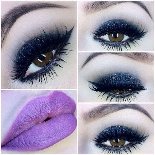 both r soooo pretty, love this look. the eyes are great & I'd pay for those gorgeous lips!