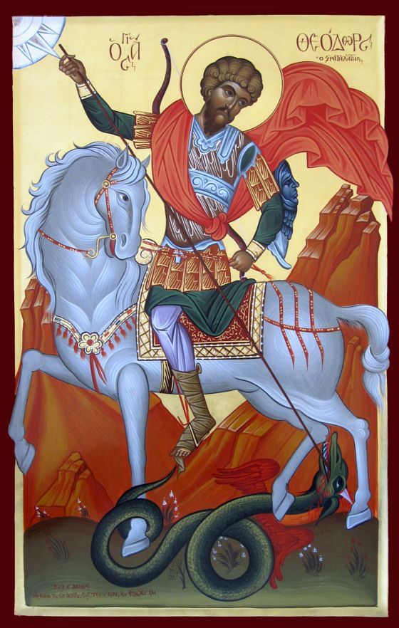 Άγιος Θεόδωρος ο Στρατηλάτης - stock photo