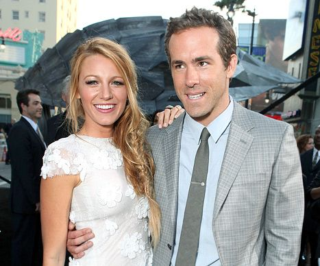 Blake Lively & Ryan Reynolds - most gorgeous couple in the world.