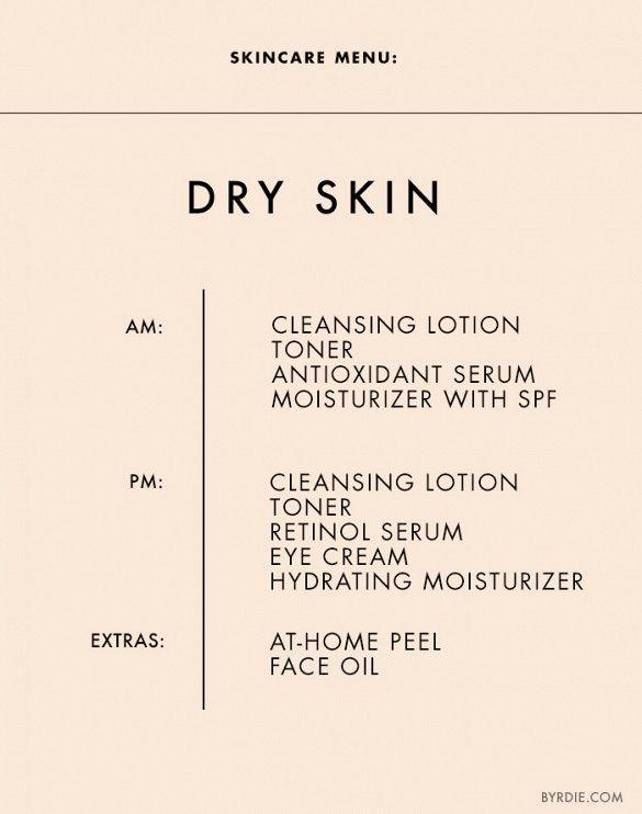 Skincare tips for dry skin. // #Skincare #Tips