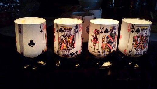 Ljuslycktor till poker festen
