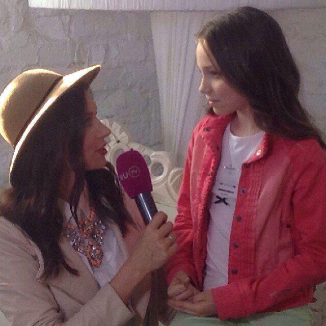Интервью для канала RU TV