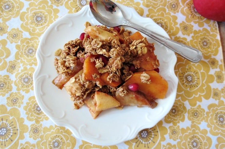 Fall Crisp - A medley of apples, pears, persimmons and pomegranate ...