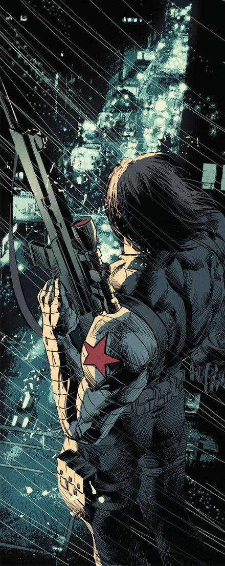 The Winter Soldier by Mike Deodato, Jr.