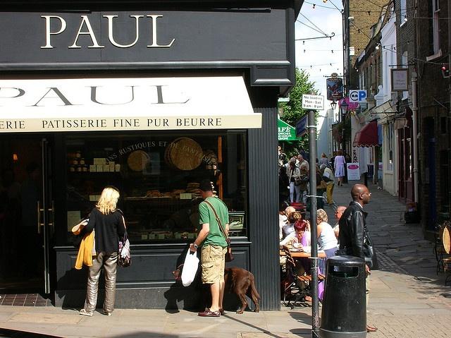 Paul Patisserie - London & Paris... To die for...
