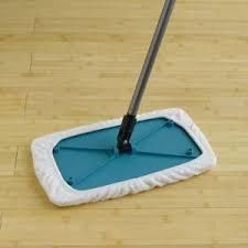 Sh-Mop Cleaning Mop Base with One Terry Cloth Wipe - Base only