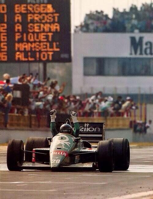 Berger. Mexico 86