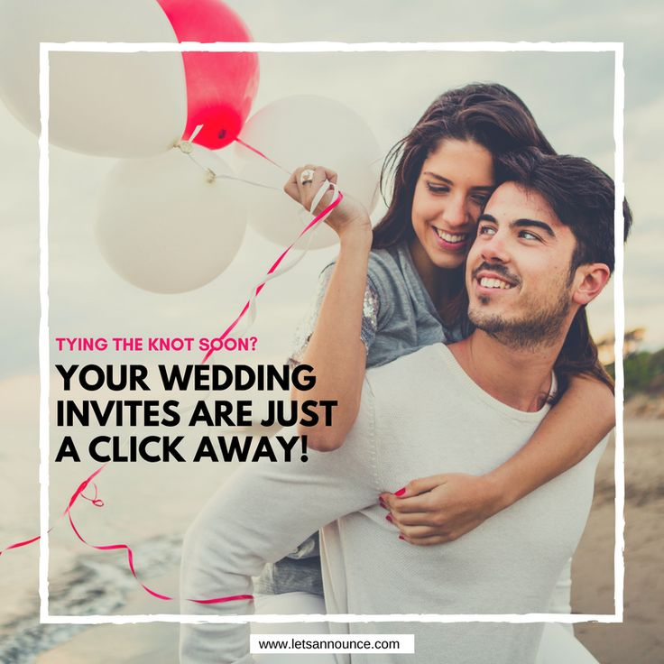 45 best Let\'s Announce Wedding Video Invitations images on Pinterest ...
