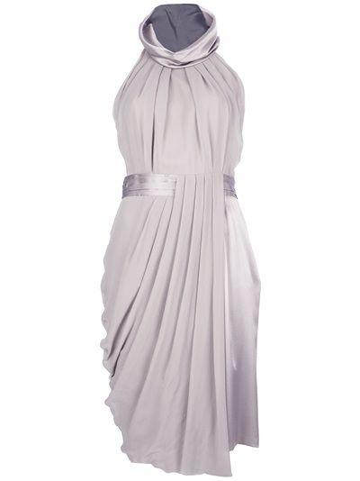 VIKTOR and ROLF Pleated Asymmetric Dress