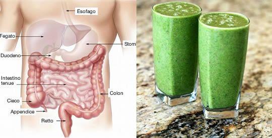 frullato naturale depurare colon