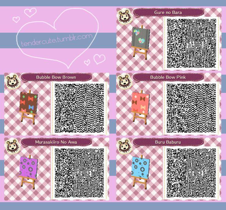 Nintendo 3DS Animal Crossing New Leaf QR Code Wallpaper