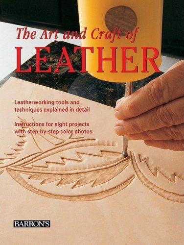 The Art and Craft of Leather: Leatherworking tools and techniques explained in detail by Maria Teresa Llado i Riba,http://www.amazon.com/dp/0764160818/ref=cm_sw_r_pi_dp_BAbSsb0XWADJY8DW