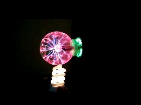 Plazma Küre ile Temas ettirmeden ampül nasıl yakılır?