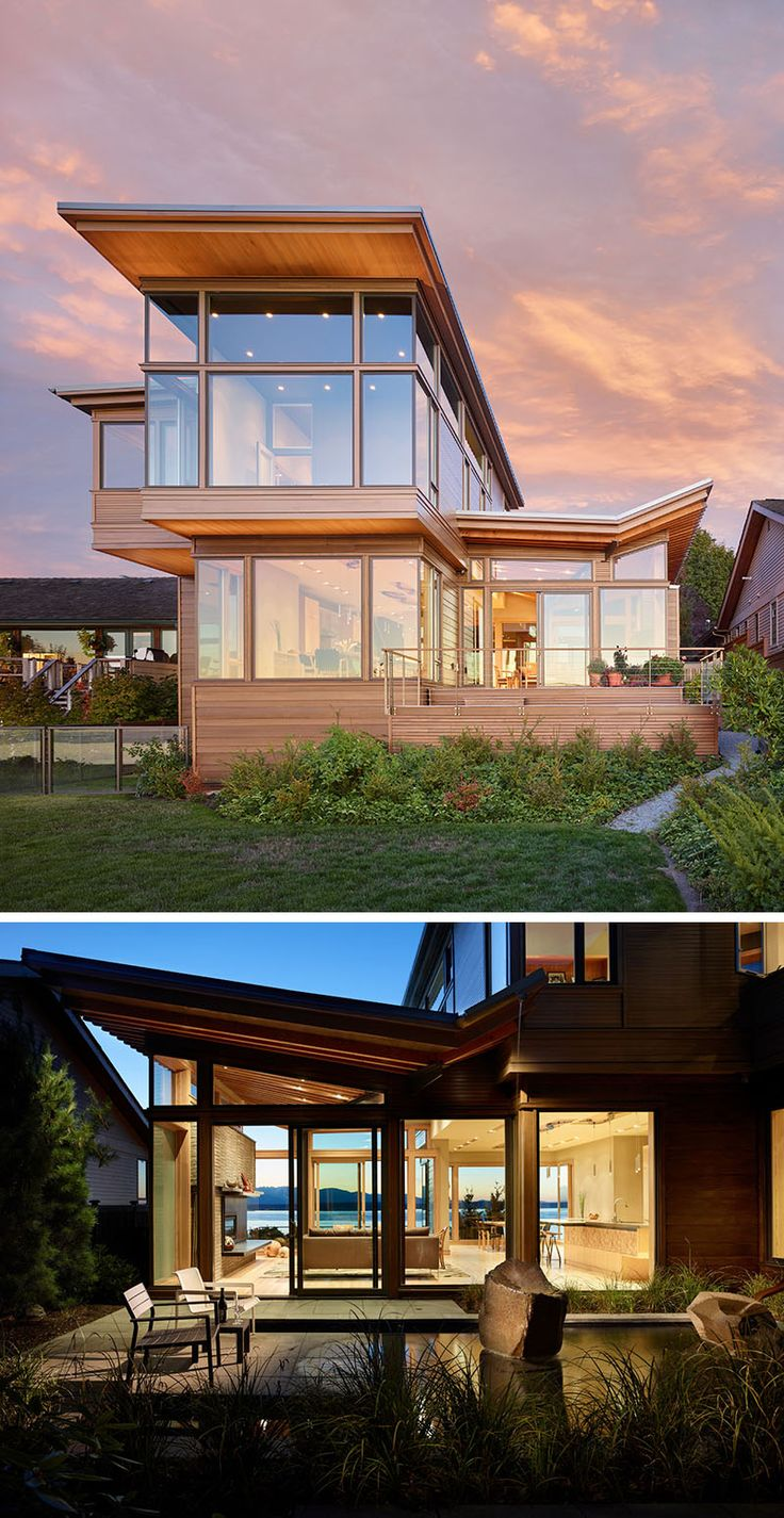 18 Amazing Contemporary Home Exterior Design Ideas: 20 Awesome Examples Of Pacific Northwest Architecture