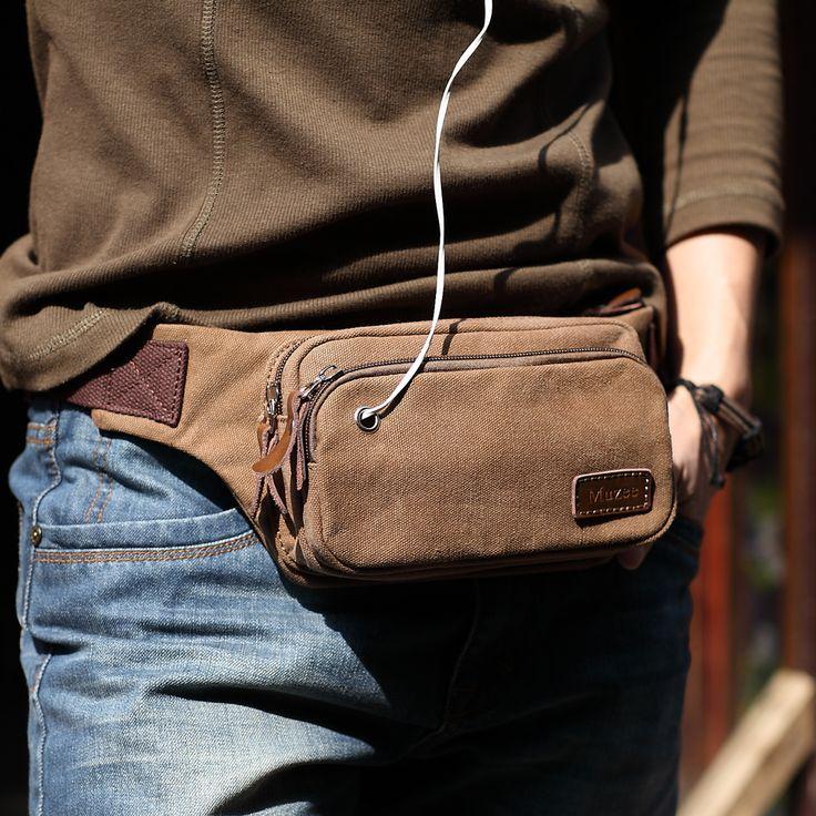 Muzee homens moda masculina multifuncional cintura packs saco da cintura beltbag marca casuais terno para três cores sacos de cintura para homens em Pochetes de Bagagem & Bags no AliExpress.com | Alibaba Group