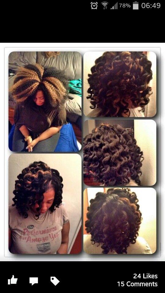 Crochet Marley Hair Vixen : Crochet braids with marley hair Natural Inspiration Pinterest
