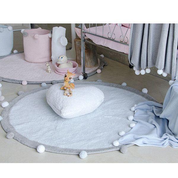 Alfombra lavable Lorena Canals Bubbly azul claro - Alfombras lavables Lorena Canals - Alfombras infantiles - Decoración