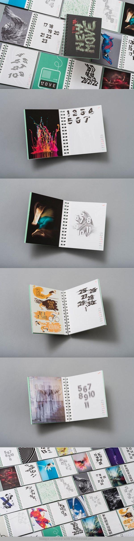 """New Move"" EIGA Design Calendar 2014"