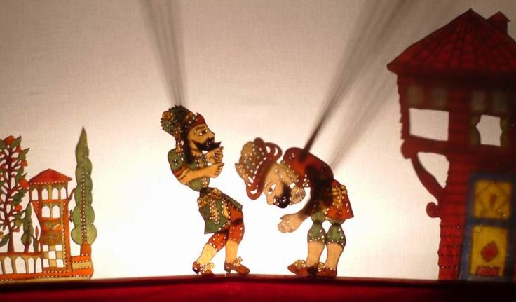 Karagoz & Hacivat traditional Turkish shadow play
