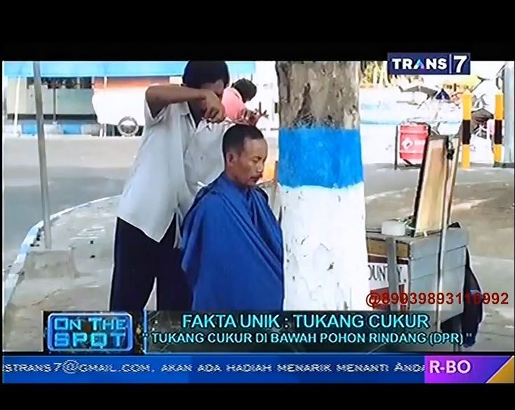 On The Spot - Fakta Unik Tukang Cukur