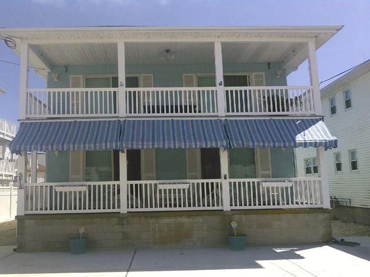 Porch Awnings Installed In Sea Isle City, NJ. Designed And Installed By  Billu0027s Canvas
