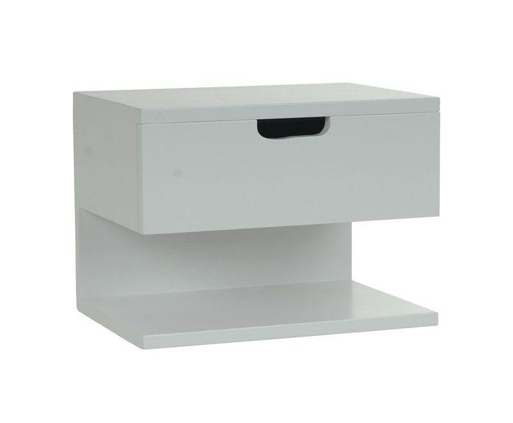 Frikk nattbord 30x40x30 cm Hvit