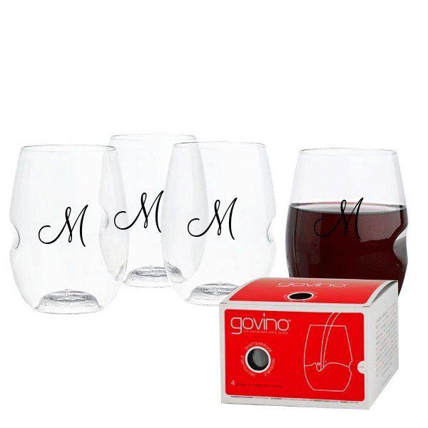 Govino Wine Glass Set of 4 - 16 oz