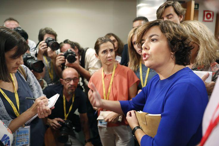 "Santamaría amenaza a la Mesa del Parlament con pedir ""responsabilidades penales"" si no obedecen al TC"