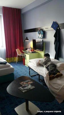 Hotel boutique temático em Frankfurt, Alemanha - 25hours Hotel by Levi's.