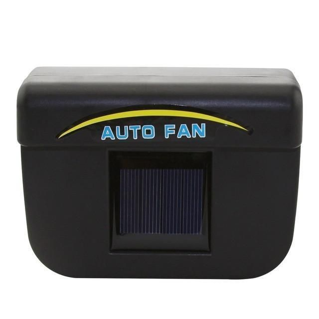 Solar Powered Auto Air Vent Cooling Fan System