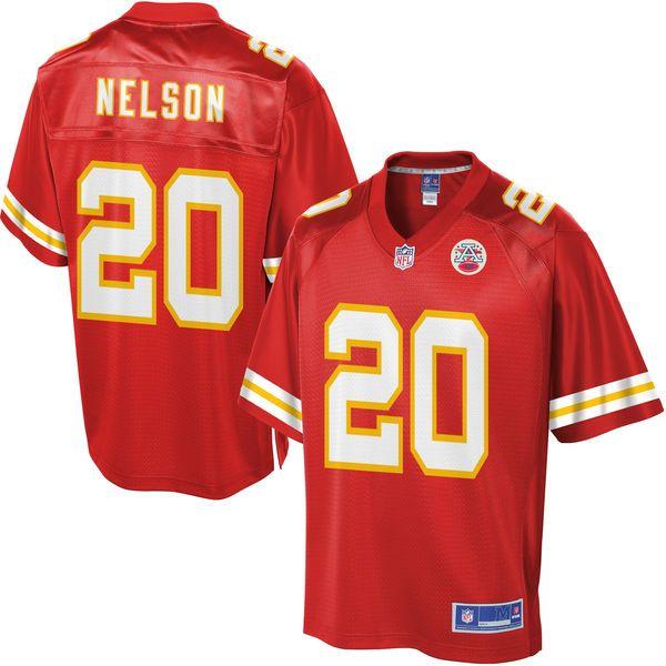 Men's Kansas City Chiefs Steven Nelson NFL Pro Line Team Color Jersey - $99.99