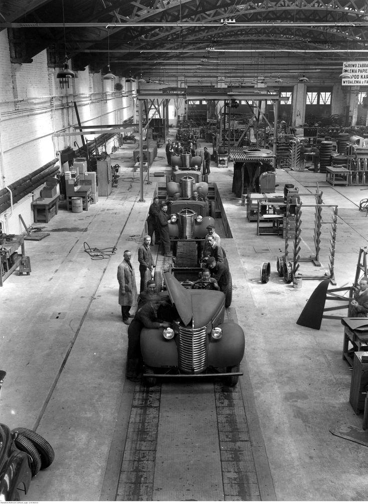Warszawa - montaż samochodów marki Chevrolet (1936-1939)