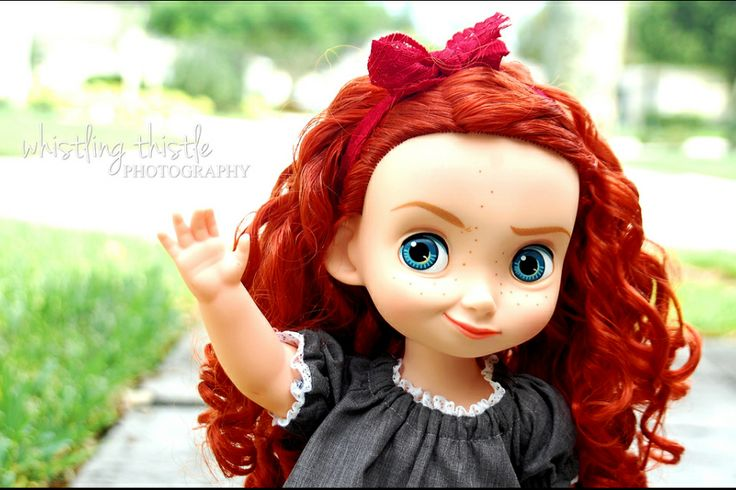 Disney Animator's Collection Dolls Merida
