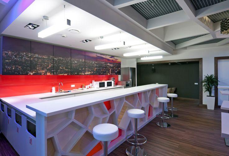 Mitsubishi Motors Office. Cantina. Moscow