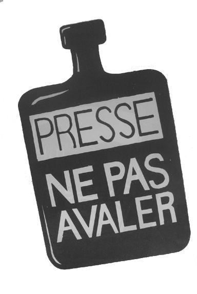 Press don't swallow