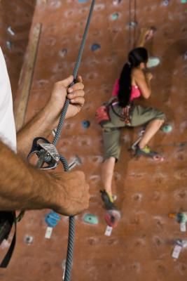"""Indoor or outdoor rock climbing is an empowering sport. When you reach the top of the route, you feel you can do anything. However, even with tremendous strength and flexibility, you need solid climbing technique to ascend the rock. Proper hand and foot placement -- plus the ability to """"read"""" the wall -- will aid you in your climbing attempts. Put on your climbing shoes and harness, grab your belay partner and prepare for an amazing climb.  #rock #climbing #mountaineering #cliff"""