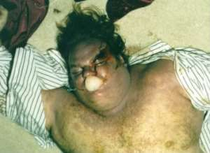 Chris Farley Corpse | Posted by stengali87 on February 11, 2014